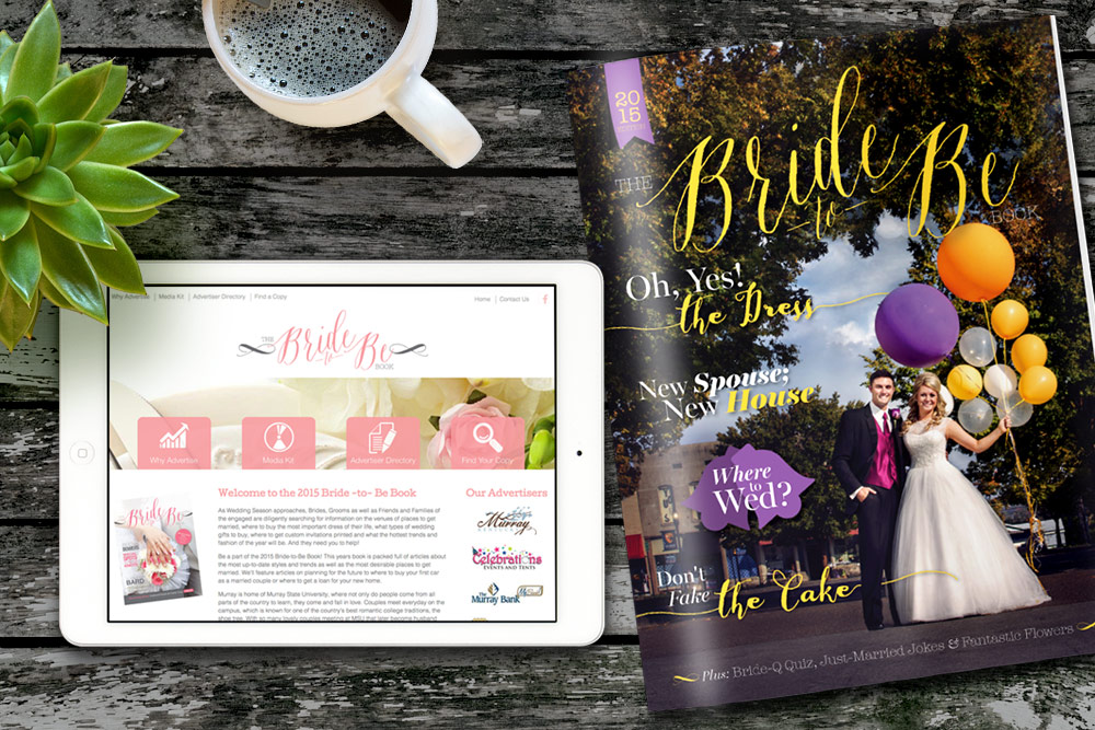 Bride-to-Be Book Website Design and Publishing