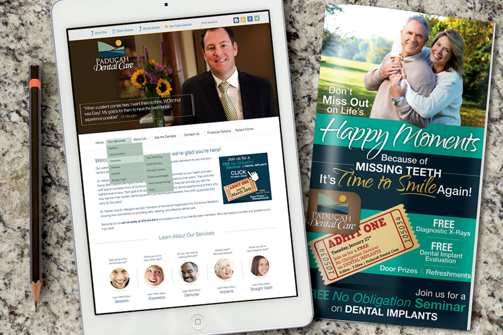 Paducah Dental Website Design and Development
