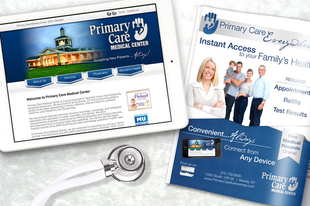 Primary Care Medical Center Responsive Website Design and Development